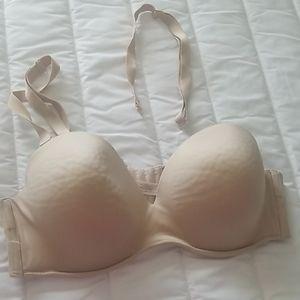 Cacique Strapless/Convertible Bra Nude